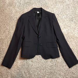 Beautiful espresso JCrew wool suit jacket EUC s0